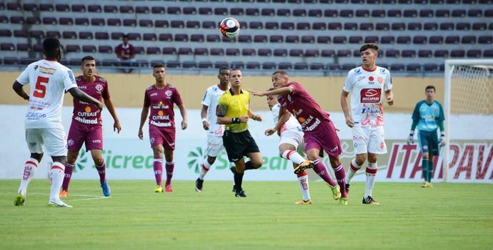 Ferroviária x Villa Nova-MG Copa SP (Foto: Leonardo Fermiano)
