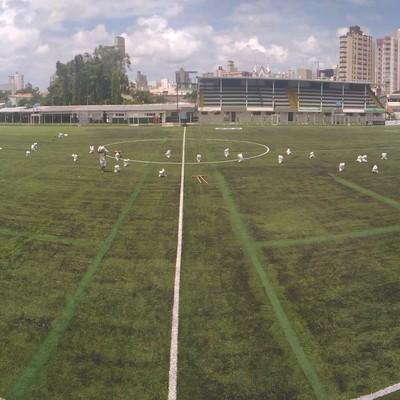 camilo mussi estádio almirante barroso (Foto: Kadu Reis / CBN Diário)
