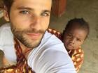 Giovanna Ewbank faz declaração de amor para Bruno e Titi: 'Pai dedicado'