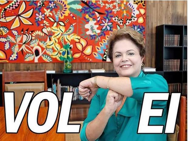 Em mensagem no Facebook, o autor de Dilma Bolada anunciou que o personagem está de volta às redes sociais (Foto: Reprodução)