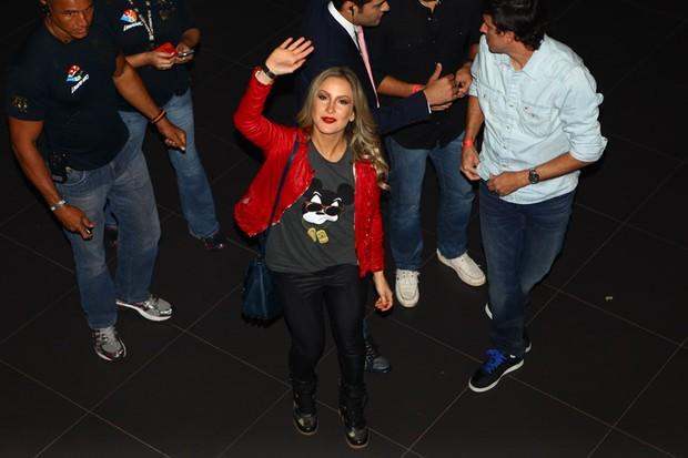 Claudia Leitte em evento em São Paulo (Foto: Iwi Onodera/ EGO)