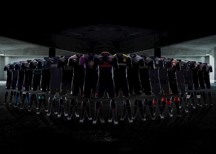 BLOG: Fornecedora de material esportivo lança terceira camisa de 23 clubes