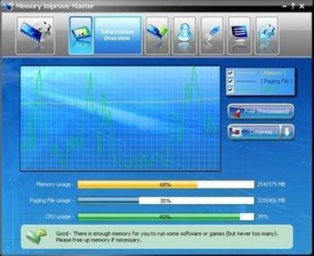 screenshot de Memory Improve Master Free Version