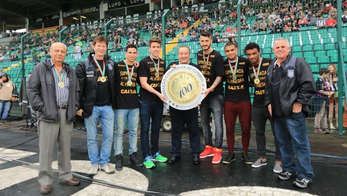 Figueirense campeão Catarinense 2015 (Foto: Luiz Henrique/Figueirense FC)