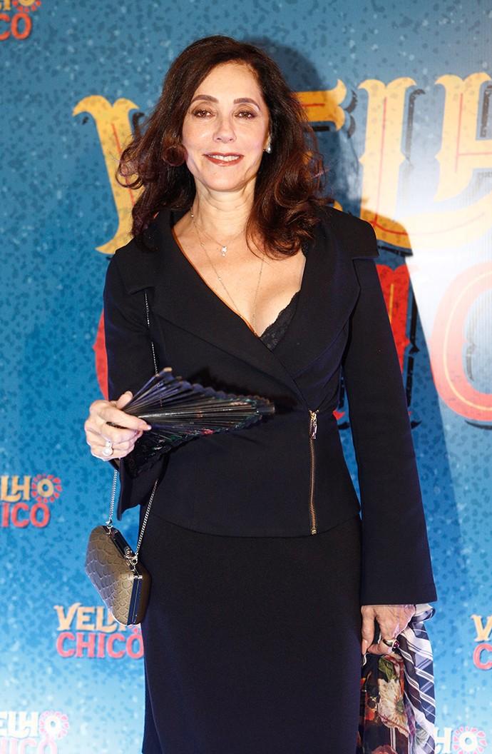Cristiane Torloni all black! A atriz será Iolanda na terceira fase! (Foto: Inácio Moraes/Gshow)
