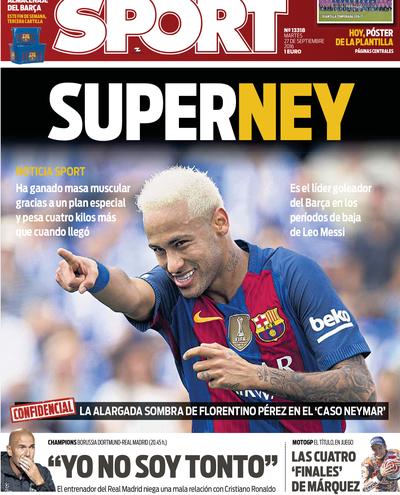 Superney capa Sport (Foto: Reprodução)