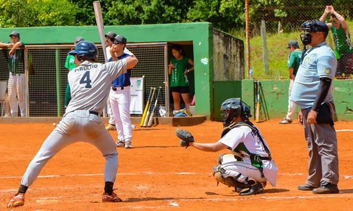 Otávio entrou para o beisebol neste ano (Foto: Otávio Alves de Souza / Arquivo Pessoal)
