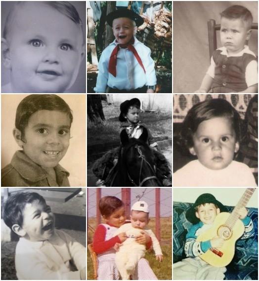 dia das  crianças (Montagem sobre fotos/Arquivo pessoal)