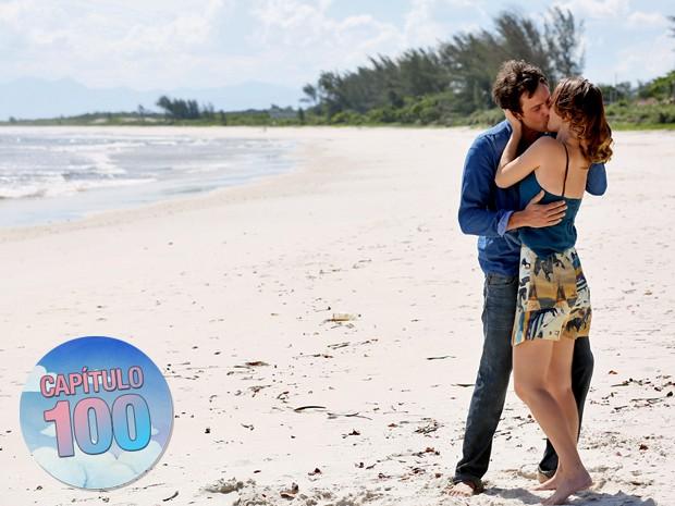 Quando ele soube que Bella seria sua filha com Laura, decidiu correr atrás do seu amor (Foto: Isabella Pinheiro/ Gshow)