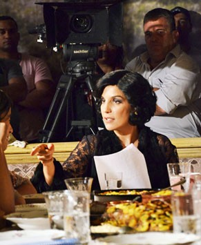 Ivete Sangalo decora texto para viver personagem (Foto: TV Globo/ Raphael Dias)