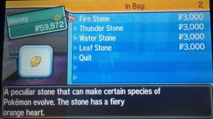 Pokémon Sun e Moon: Evolution Stones são essenciais para evoluir um Eevee (Foto: Reprodução / Thomas Schulze)