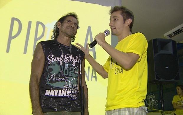Rambu da Amazônia participa do 'Pipoca em Cena' (Foto: Bom Dia Amazônia)