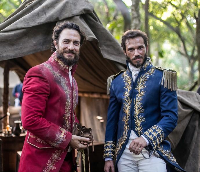 Paulo Rocha vai interpretar o general Avilez, um comparsa de Thomas Johnson e inimigo de Dom Pedro (Foto: Globo/ Raquel Cunha)