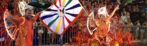 Diversidade do Samba conquista o 1º título no carnaval de Joinville (Kleber Pizzamiglio/RBS TV)