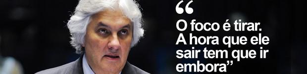 Ouça diálogo em que Delcídio oferece rota de fuga e dinheiro para silenciar Cerveró (Jefferson Rudy/Agência Senado/Arquivo)