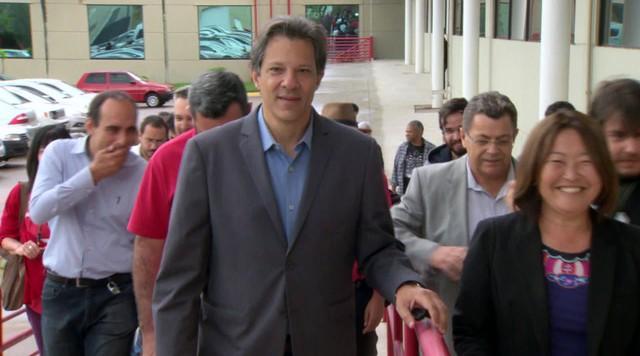 Veja a agenda de campanha do candidato à presidência pelo PT, Fernando Haddad