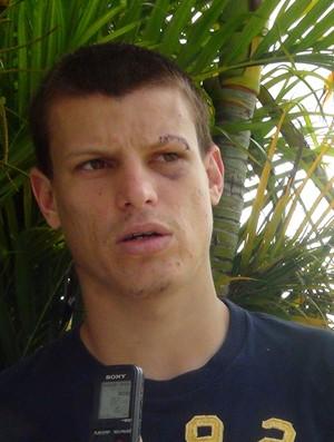 Diego Jussani CRB (Foto: Viviane Leão/GloboEsporte.com)