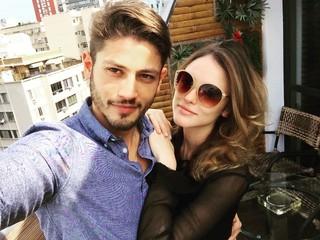 Isabelle Drummond com Kassio Lucas (Foto: Reprodução/Instagram)