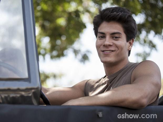 Arthur Aguiar estreou na novela das 21h em uma trama de Manoel Carlos (Foto: Inácio Moraes/TV Globo)