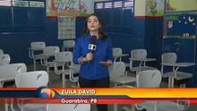 Telejornal aborda falta de alunos nas escolas do agreste da Paraíba (Reprodução)