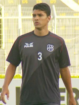 Ferron, zagueiro da Ponte Preta (Foto: Reprodução / EPTV)