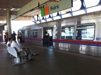 Metrô-DF vai elaborar plano para colocar vagão feminino em prática (Foto: G1 DF)