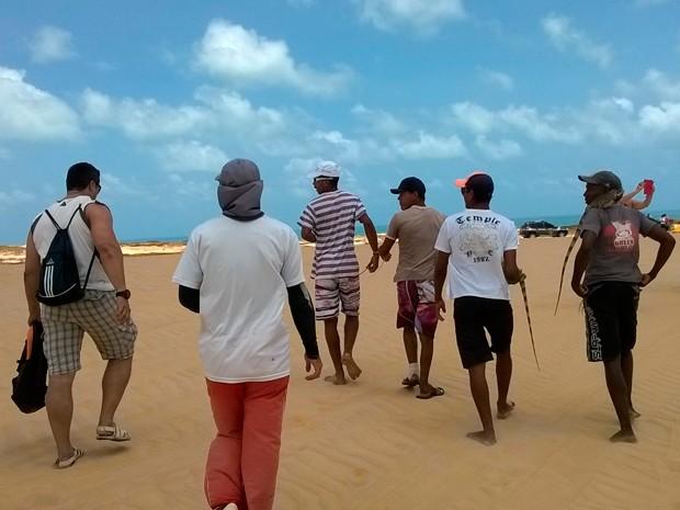Animais foram apreendidos entre as praias de Pitangui e Muriú, no litoral Norte do RN (Foto: Divulgação/Polícia Civil do RN)