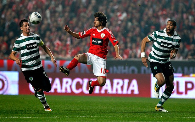 pablo aimar benfica sporting lisboa (Foto: Ag&#234;ncia AP)