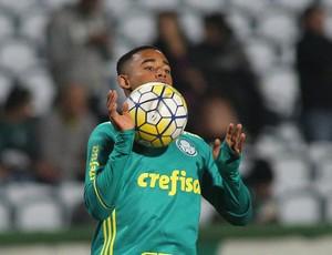 Gabriel Jesus Palmeiras (Foto: Giuliano Gomes/PR PRESS)