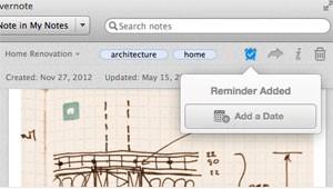 Evernote passa a enviar alertas sobre documentos e tarefas do usuário. (Foto: Divulgação/Evernote)