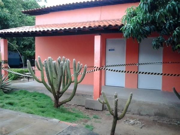 Salas foram interditadas após engenheiros constatarem risco de desabamento (Foto: Portal Serra da Capivara)