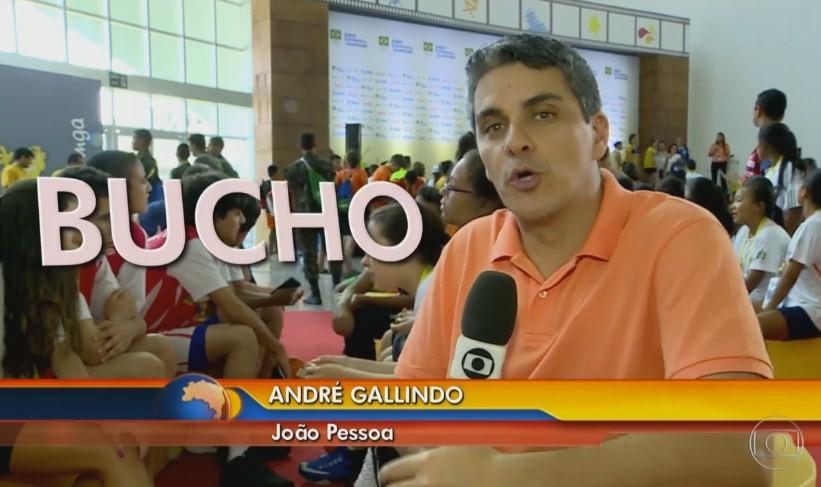 Diariamente, atletas de encontram no Centro de Convenções de JP (Foto: Reprodução)