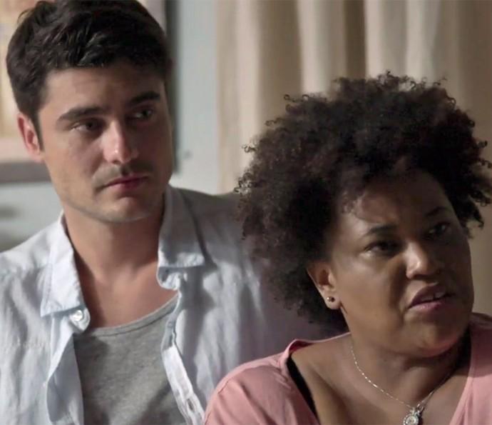 Tito e Ilza encontram nova pista (Foto: TV Globo)