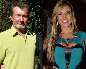 Nei e Andressa Urach (Foto: Divulgação e AgNews)