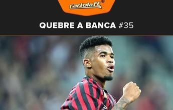 Ewandro joga 14 minutos, marca dois gols e quebra a banca na rodada#35