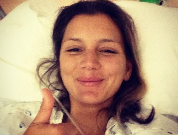 maya gabeira hospital surfe (Foto: Reprodução Instagram)