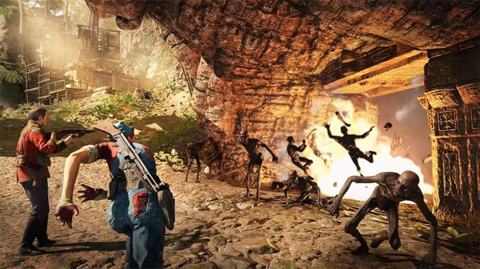 Com um toque bem bizarro Strange Brigade traz um esquadrão que enfrenta forças sobrenaturais (Foto: Reprodução/Polygon)