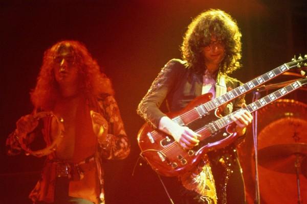 Jimmy Page - Led Zeppelin (Foto: Divulgação)