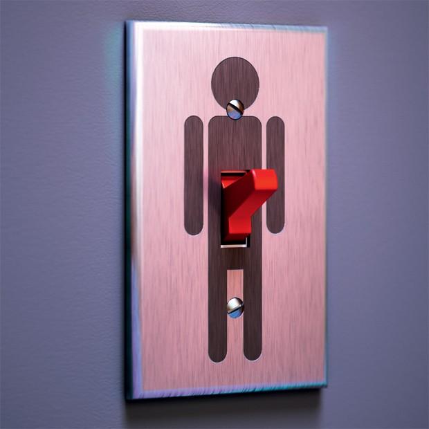 """Interruptor - Descubra como anda sua ereção (Foto:  marcus penna """"japs"""")"""