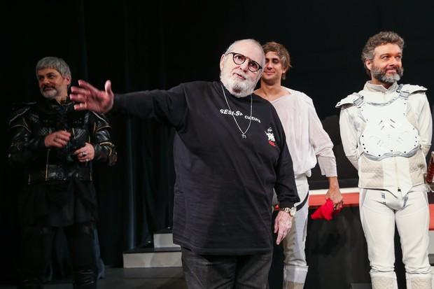 Jô Soares em estreia de peça em São Paulo (Foto: Manuela Scarpa/ Brazil News)