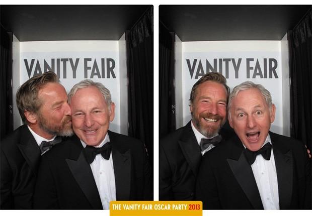 Rainer Andreesen e Victor Garber, que acabam de assumir o namoro e a homossexualidade (Foto: Reprodução)