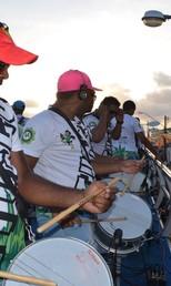 Já é carnaval (Foto: Marina Fontenele/G1)