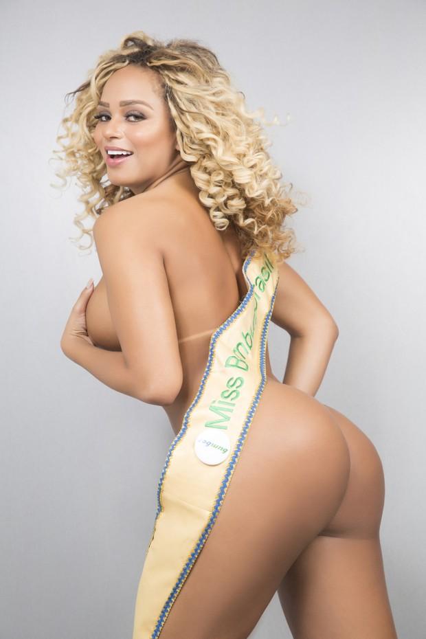 Erika Canela, a Miss Bumbum 2016 (Foto: Studio Woody / CO Assessoria)