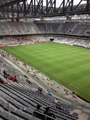 arena da baixada atlético-pr  prudentópolis (Foto: Fernando Freire)