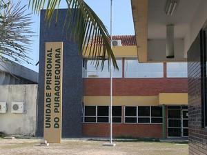 Unidade Prisional do Puraquequara, em Manaus (Foto: Romulo de Sousa/G1 AM)