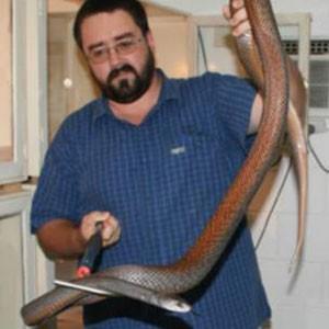 Williams dedicou sua vida a ajudar pessoas picadas por cobra (Foto: Arquivo pessoal)