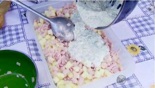 Prato rápido de Fernando Kassab é ideal para ceia (Foto: Reprodução EPTV)