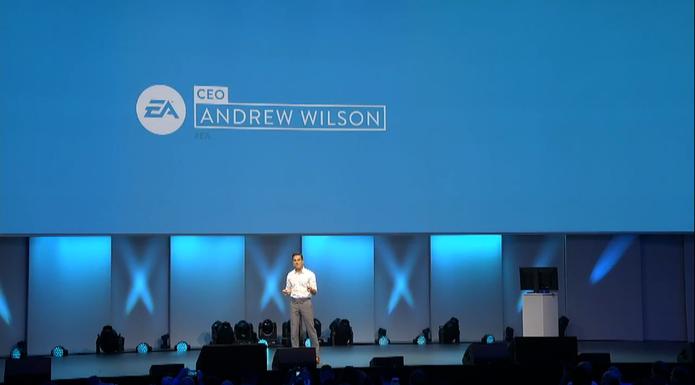 Conferência da EA na Gamescom 2015 (Foto: Reprodução / TechTudo)
