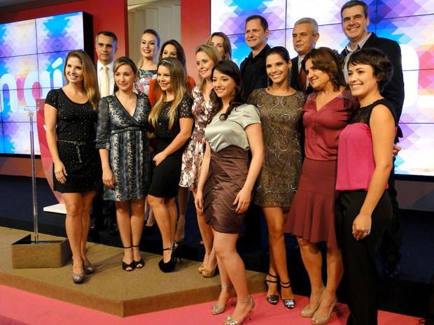 Globo Minas lança programação 2014 (Foto: Humberto Trajano / G1)