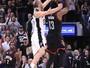 Ginobili dá toco no fim, Spurs superam triplo-duplo de Harden e fazem 3 a 2